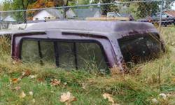Older Shell In Good Shape (Needs Paint). Fits Older Ford Full Size Short Bed. All Glass intact. Local Pick Up Only. Mayfield, KY