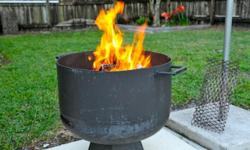 PATIO STYLE FIRE PIT ALSO CAN BE USED FOR CHARCOAL GRILL,I HAVE DIFFRENT STYLES , VERY WELL BUILT CALL JAMES AT - OR -  I have 2 of these available now