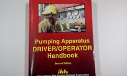 I am selling my IFSTA Pumping Apparatus Driver/Operator Handbook Second Edition. This Handbook is like new condition... Checkout my pics..
