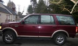 """1997 Eddie Bauer Addition/ Ford Expedition 184K miles No transmission or engine problems. I bought the truck two years ago. The only thing that was fixed on it was the brake line. The book value is $3600. I bought it at $4000. Now selling it for $2800 """"AS"""