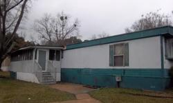 This home is located in Landmark Village in Fayettevile. Home needs work but structure seems good. Lot rent is $426 monthly and you deposit would be $150. Home will need brought up to park standards but should not be to hard for the right person. If
