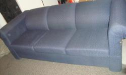 Free queen sleep sofa. good condition smoke free home. left arm has small tear. nothing a slip cover can't hide. sorry no delevery