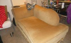 Furniture set... Couch, chase, coffee table , 2 end tables and 2 beautiful elephant lamps