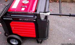 Brand NEW! Honda's Top of the Line EU6500 generator, Turn key start ready with full tank of gas! A$king price FIRM! (Ca$h preferable) Only 1 left! . . . there will be no gnerator avail. at any store until Wed. 10/31 at earliest! Better Hurry!