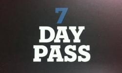 Hello! I wanted to reach out and invite you to stop into Life Time with a FREE 7Day PASS good thru the End of December! Simply send me an email back when you know you would like to stop in so I may activate this pass and you can have a blast! If you would