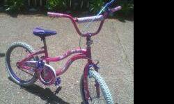 GIRLS 20IN. NEXT SLUMBERPARTY BICYCLE FOR SALE FOR $20. GOOD CONDITION IF INTERESTED EMAIL