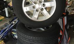 2012 GMC Mag Wheels and Tires, tires  are 245 70r 17 and have 12k miles and have lots of tread left