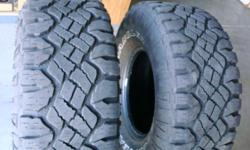 I have two 33x12.50R15LT Goodyear wrangler tires. $50.00 each OBO. If interested please call --