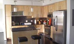 This beautiful 1bd/1ba apartment not only offers amazing location but also a stellar view as well!! Wall to wall windows, hardwood flooring, stainless steel appliances, granite counters, and a washer/dryer in the unit are the highlights of this beautiful
