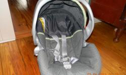 Graco Snug ride Infant carseat. Only used 4 times. Would work for boy or girl. base included. (Not shown in pictures) 50.00 obo.
