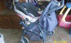 for sale a graco stroller and car seat and two bases asking $55 dollars ,call -- if you buy the stroller you can have the car seat and the to bases for free