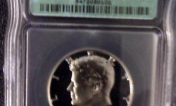 TWO GREAT BUYS ON VERY COLLECTABLE 40% SILVER KENNEDY HALVES! 1968-S KENNEDY HALF DOOLAR ICG DEEP CAMEO - Please go here >>>> http://us.ebid.net/for-sale/rare-1968-s-kennedy-silver-half-dollar-icg-pr70-d-cameo-43881042.htm 1969-S KENNEDY HALF DOOLAR ICG