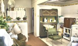 HAIR SALON FOR SALE...INCLUDES CLIENT CARDS, SUPPLIES, RETAIL, EQUIPMENT (EXCEPT PERSONAL ITEMS)...CHEAP RENT, GREAT LOCATION, GREAT LAND LADY, PARKING IN FRONT OF SALON, GREAT NEIGHBORHOOD. HAVE TO SELL BECAUSE OF HEALTH ISSUES, BUT GREAT OPPORTUNITY TO