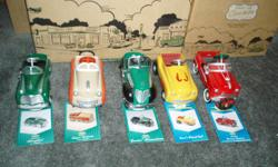 """LARGE COLLECTION OF KIDDIE CAR CLASSICS IN ORIGINAL BOXES AS WELL AS CORNER DRIVE-IN WITH ALL SIGNS. KC'S GARAGE WITH ALL ACCESSORIES. FIRE HOUSE AND ALL ACCESSORIES. OTHER ACCESSORIES ALSO AVAILABLE- NEWSPAPER AND GARBAGE CAN ,STREET LIGHT, ETC. """" WOULD"""