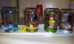 Hand Made Snow Globe,,,Got a Favorite Trinket you find for your child,,,We can add it too,,,cureently available winnie the pooh and disney princess dont see it ask