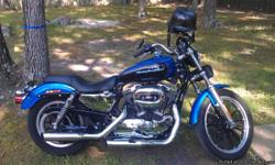 2006 sportster low xl 1200 cc 10500 miles