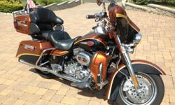 100% Immaculate !!! 2008 Harley Davidson Screaming Eagle CVO Electric Glide. Originally from Brian's Harley-Davidson!!! Extremely LOW MILES!!! Only just over 7K MILES...(PLEASE ASK FOR ACCURATE MILEAGE) NAVIGATION !!! 1-OWNER !!! 2 KEYS !!! 1850 cc !!!