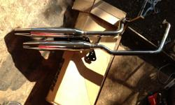 Chrome with no scratches. Call/text - Fits most Harley's. open to offers