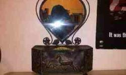 4sale..heart.shaped.mirrored. Jewlry..box.in.exellent.conditon. Please..call.-- Thanks..have..a..great.day!