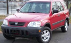 Honda CRV 4x4 1997 Perfect for Winter Drives Great Immaculate Interior Price: $3700 Auto Make: Honda Auto Model: CRV Auto Year: 1997 Auto Style: Sport Utility Auto Color: RED This is a 97 Honda CRV with a few bumps here and there but great for what it is.