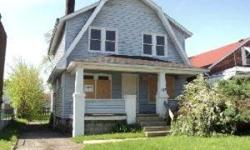 Large 3 bedroom, 1 bathroom house in convienent location. Close to bus route and highways. Fireplace in large living room which opens to dining room. Spacious bedrooms. Off-street parking and partially fenced backyard. Full basement with washer and dryer