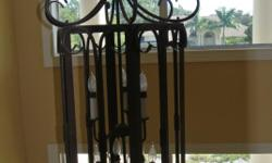 Beautiful Chandelier---Perfect for Entryway! Huge--4 ft. Save Hundreds of dollars. Like New!