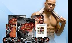 Insanity workout 60 day total body conditioning program 10 dvds 1. dig deeper fit test 2. plyometric cardio circuit 3. cardio power and resistance 4. cardio recovery and max recovery 5. pure cardio and abs 6. cardio abs 7. core cardio and balance 8. max