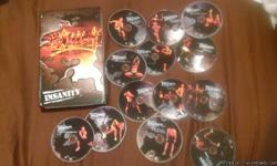 complete insanity workout 13 dvds with elite nutrition guide