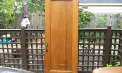 I have two interior doors for sale. Size 1 3/4 x 29 7/8 x 78 7/8 single panel  1 3/4 x 36 x 79 5/8 8 panels Call Ed 727-535-5522 Royal Oak