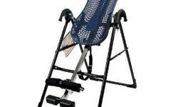 New-Never Used-Teeter Hang Ups-EP550/650 Inversion Table--As Seen on TV--Regular Price $329.00.