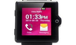 iradish i6 Android Watch Phone features a 1.54 Inch Capacitive TFT Screen, MTK6577 Dual Core 1.0GHz CPU and 4GB internal memory making it convenient to be worn on your wrist. iradish i6 Android Watch Phone Looking great on the wrist is this excellent