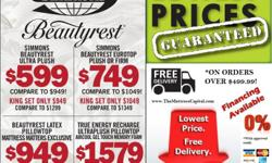 BEAUTYREST SUPERSALE AT THE MATTRESS CAPITAL..STOP BY TODAY!! 8200 RENAISSANCE PKWY. DURHAM -- WWW.THEMATTRESSCAPITAL.COM