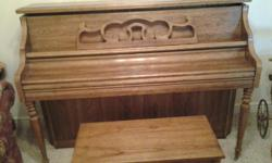 Piano is in like new condition.