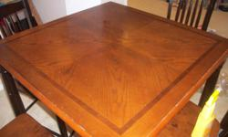 I have a table and chairs that I got from Sears abt two years ago. It is in good condition. Trying to sell asap.