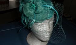 Three beautiful dressy 'pillbox' ladies hats. All new. $20.00 each - cash. See pics to appreciate.