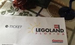 4 Orlando, Legoland, single day adult/child admission tickets, expire 31 december 2014. Visit cancelled because of major storm. Will consider offers.