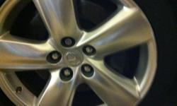 factory wheels 19inch excellent condition and tires great condition if you like more info cakll