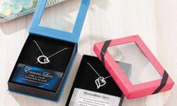 http://littlebitofeverything.club/product/love-pendant-gift-boxed-sets This Love Pendant Gift-Boxed Set is the perfect way to show someone how special they are to you. The sparkling necklace is encrusted in rhinestones and includes a card with a sweet