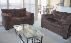 Hi, I am moving out of Dallas and looking for quick sale of recently bought Loveseats & Coffee Table. Asking price: Loveseat: $215 each Coffee Table: $50 Cash Payment and Pick-up only. Cheers Sunil