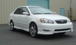 See Bellow ..              2006 TOYOTA COROLLA S - One Owner - $2,450 Excellent driving and handling ability is a given, but you may