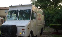 EXCELLENT CHEVY STEP VAN 1976 -COMPLETELY REMODELED INTERIOR FULLY ALUMINUM - 4 SINKS 4 SECTIONAL WARMEN A DOUBLE FRYER- A LARGE GRILL- A SALAD BAR BAYMARIE SET UP- FREEZER REFRIGEATOR- STOARGE ARE / BUILT IN INDUSTRIAL COFFEE MAKER/CASH REGISTER/ ETC