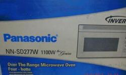 Salvex Listing ID: 182949677  Item Details: This lot of Panasonic 1100 Watt Microwaves is available as part of a surplus and are being sold to recover funds and storage space. Manufacturer Panasonic  Product 1100 Watt Over the Range Microwaves