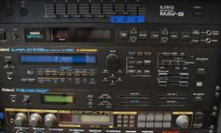 MIDI Studio Equipment for sale: Roland JV 1080 Sound Module-$400. / Roland MC500 MKII Sequencer - $300. / Roland R8-M Drum Sound Module-$300. / Ross MEGA Amp 500 - $150. / Kurtzweil K1200 88 note Midi Keyboard-$800. / Mackie 16 channel