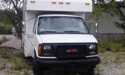Air Conditioning, Power Steering, Power brakes, delay wipers, AM-FM stereo, Run & Drives great. 6 like new tires 5.7 engine with automatic transmission. truck dually was used by a major utility( VERIZON) with regular maintenance schedule. 78K miles. Cargo