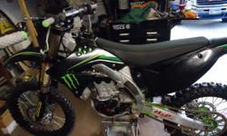 - Awesome KX 450F Monster Edition - Many extra accessories with bike (including $500 of new parts) -$13,000 in bike