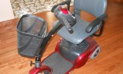 Brand New Motorized Mobility Scooter: This unit is new with zero miles and zero hours. Excellent for getting around the house or outside. Unit included all manuals, charger, and accessories. Please call () - for details.