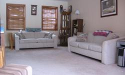 Loveseatbed, sofa & loveseat, china closet, end table, small oak curio, coffee table, small oaktable & chairs,gas dryer, small book case...all in excellent condition!!! Make me an offer. Please call --; voice mail only.