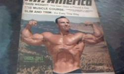 i have a 4 magazine of the champions,mr.america,chuck sipes ,the man with 20 arms,june,1967,on july 1967 steve stanko meet mr. italy,pietro torrisi, on may 1967 is dennis tinerino mr .u.s.a.on september 1967 bodybuilding,terrific photos of 1967