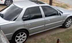 Silver Honda accord 4 door, sunroof, ''17'' inch rims, cd player, new alarm system, new radiator, 4 month old tires, fresh tint, new black strip around the car and runs good