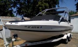 Must sale 2005 Maxum boat 2200 has tower and trailer. Installed new engine in 2012 only has approx. 15 hrs of use. Will include tubes, water boards, skis, life jackets. Will negotiate price have to sale ASAP.